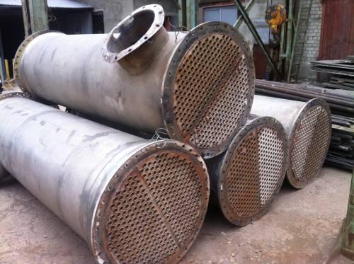 Теплообменники бу сдать Кожухотрубный теплообменник Alfa Laval ViscoLine VLM 12x16/85-6 Саранск