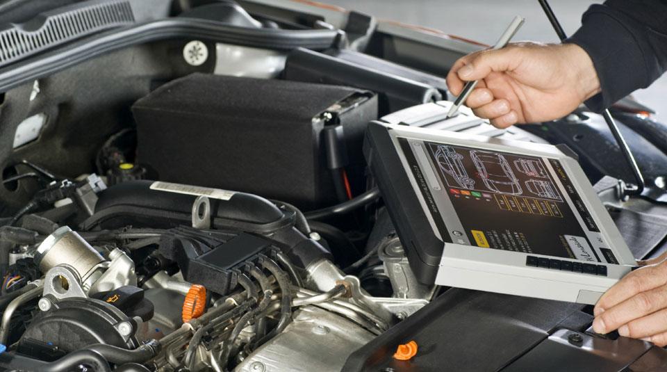 Компьютерная диагностика двигателя фольксваген