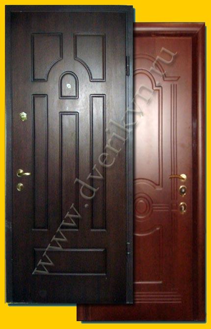 сколько стоят входные железные двери из профиля