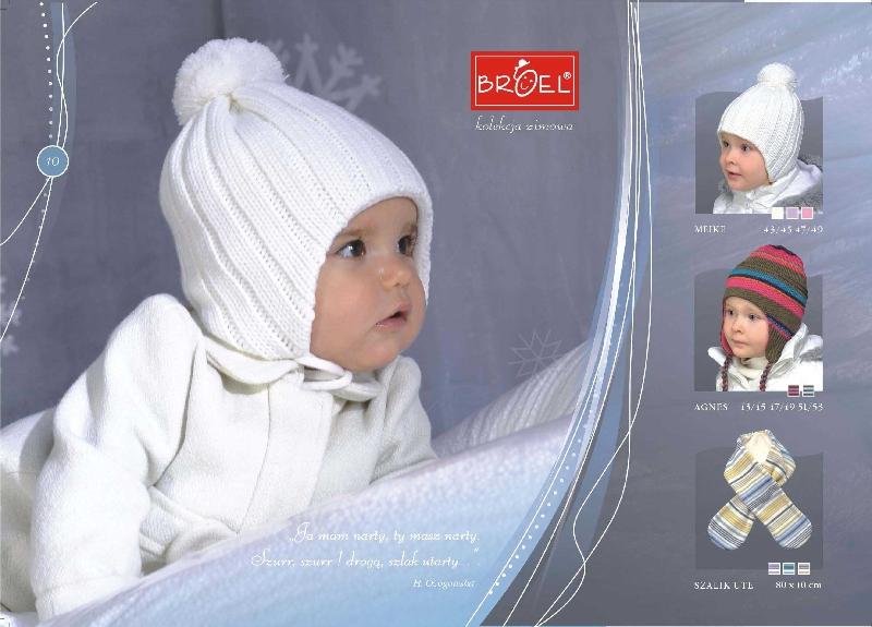 оптом шапки детские польского.